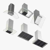 Miele ventilation wall hoods