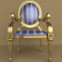 Baroque Dining Room Chair