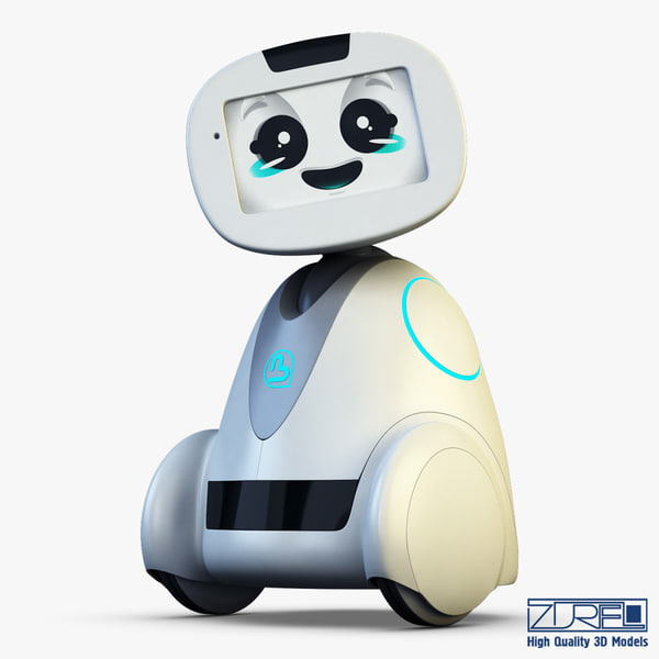 max buddy robot white v