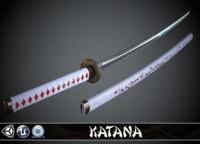 Katana Sakura - model and textures