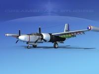 douglas a-26k a-26 bomber 3ds