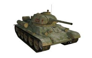 3d model t34