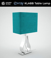 3d model klabb table lamp