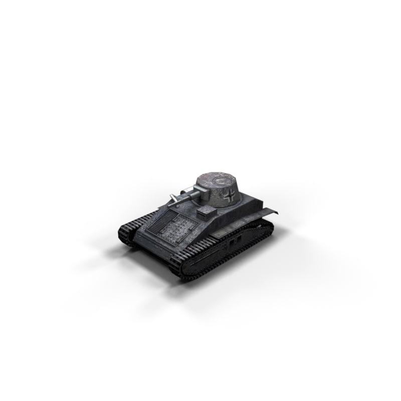 world war tanks polys 3d max