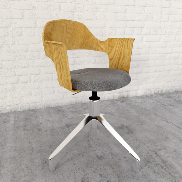 fjallberget chair 3d max