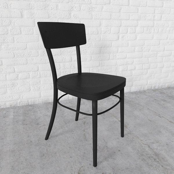 3d max chair idolf