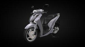motorcycle 2017 sh 3d model