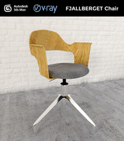 fjallberget chair 3d max