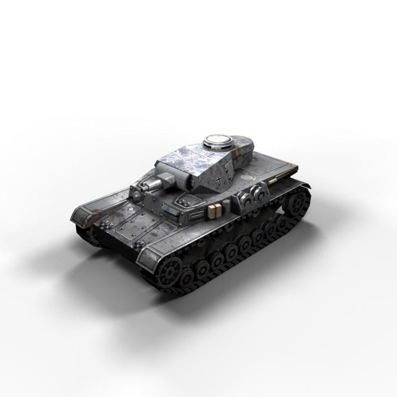 3d max tanks polys