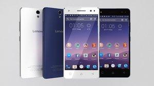 3d model of smartphone lenovo vibe s1