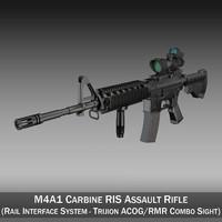 Colt M4A1 Sopmod ACOG