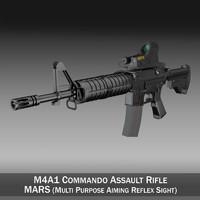 colt m4a1 commando mars 3ds