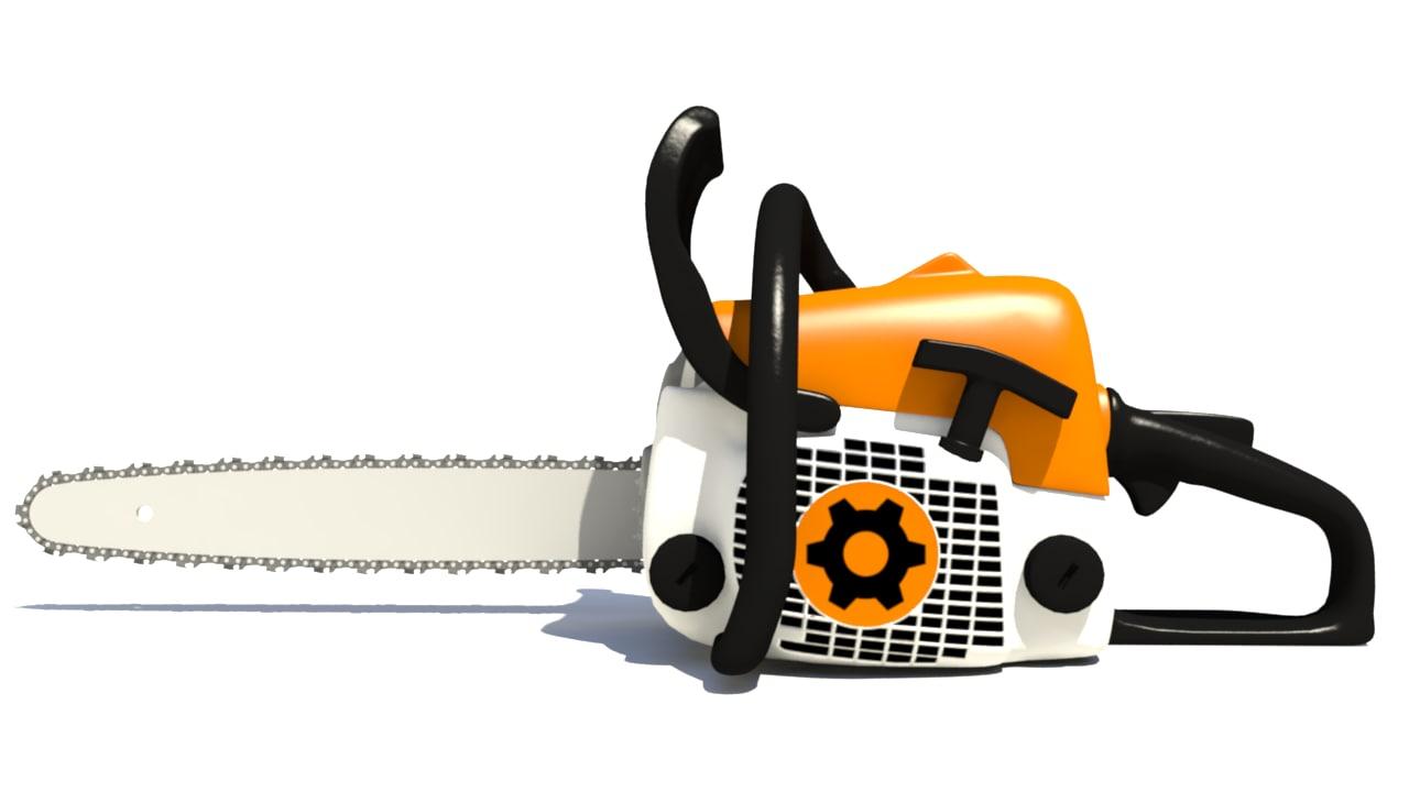 3d model chainsaw chain