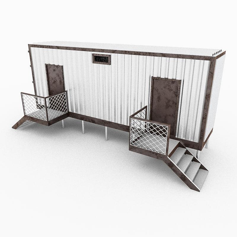 modular container 3d model