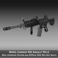 Colt M4A1 Sopmod EOTech552