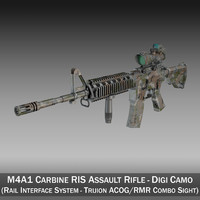 lightwave m4a1 sopmod rifle colt m4