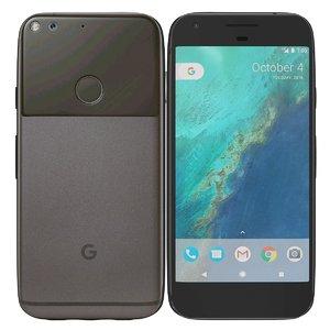 google pixel quite black 3d obj