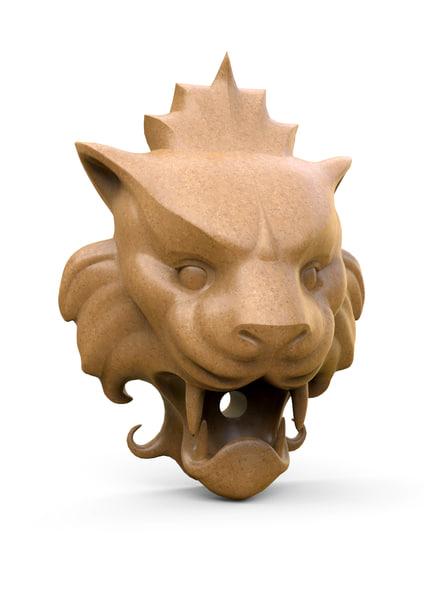 lion head spout max