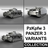 PzKpfw 3 - Panzer 3 - Collection