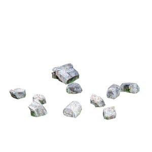 stone debris 02 3d model