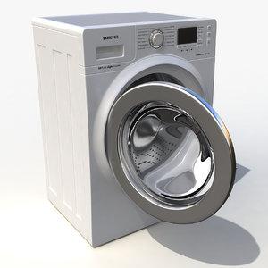samsung washing machine 3d max