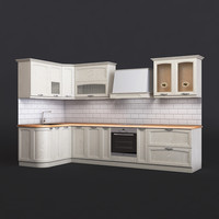 kitchen amalfi 3d max