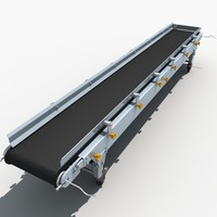 3d model conveyor belts