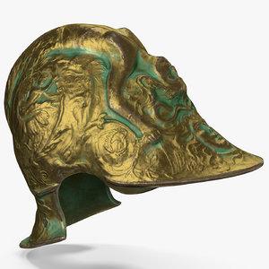 medieval helmet 2 3d max