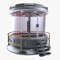Sci-fi Prison Cell Insulator Isolator