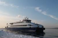3d catamaran ferry details boat model