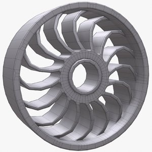 3d robot wheel