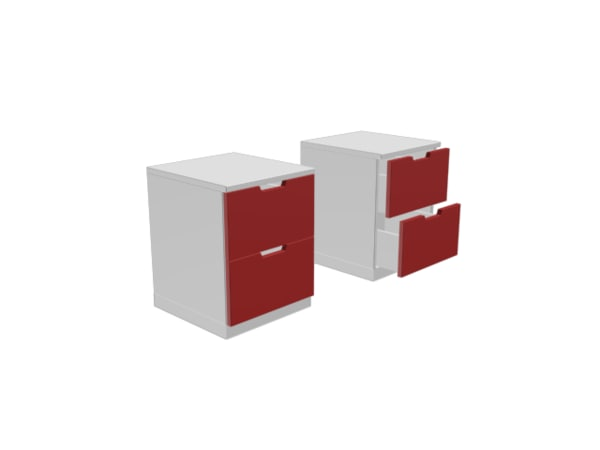fbx modern drawer