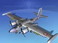 3d douglas a-26k a-26 bomber model
