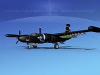3d douglas a-26k a-26 bomber