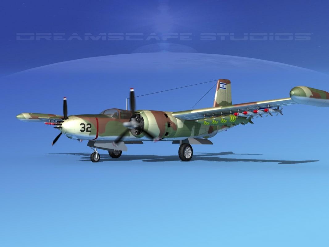 douglas a-26k a-26 bomber lwo