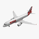 Airbus A320 TAM Airlines Animated