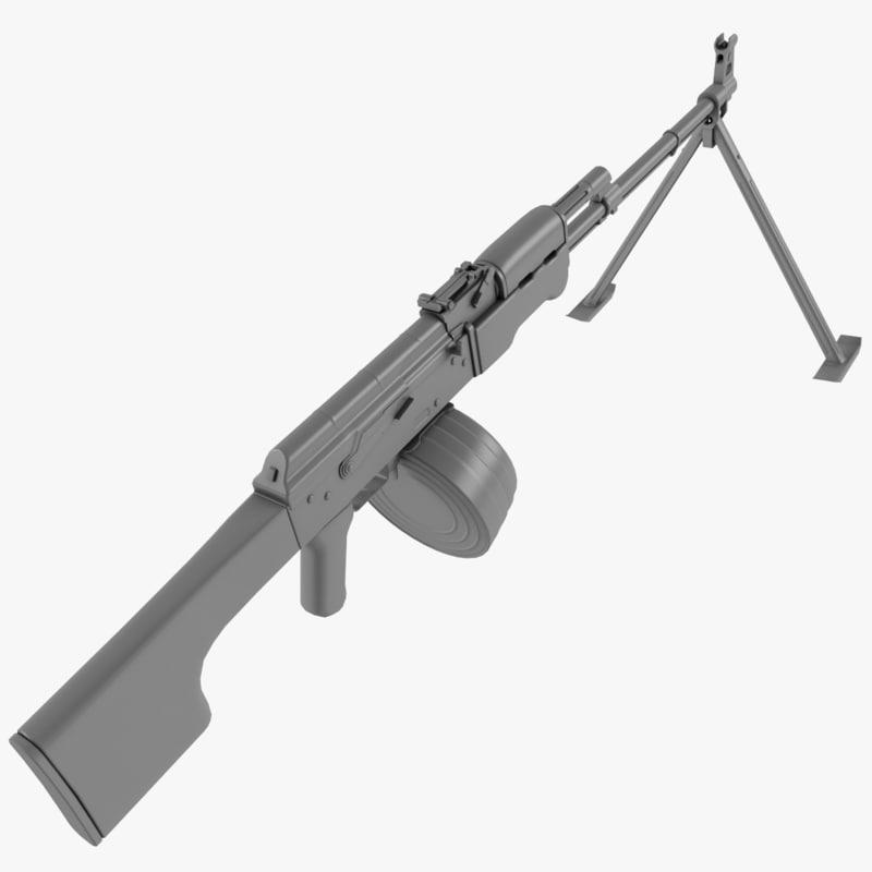 rpk machine gun max