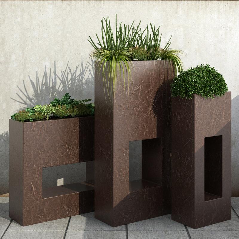 decorative ornamental 3d model