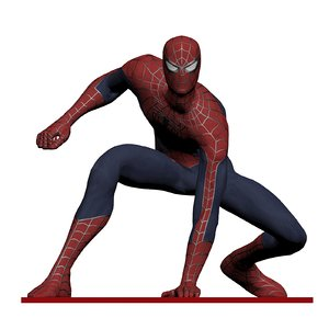 spiderman printing 3d model