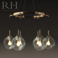 3d restoration languedoc chandelier