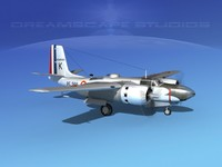 douglas b-26b b-26 bomber 3d 3ds