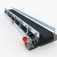 Belt conveyor line 02