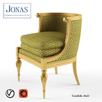 jonas gondola chair seat 3d model