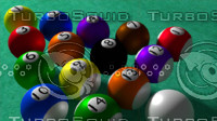 3d billiards ball