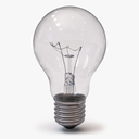 Incandescent Light Bulb 3D models