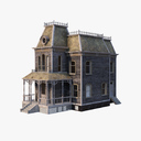 haunted house 3D models