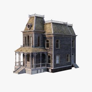 old house psycho obj
