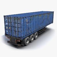 Cargo Trailer Rusty