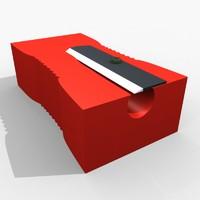 3d model pencile sharpner