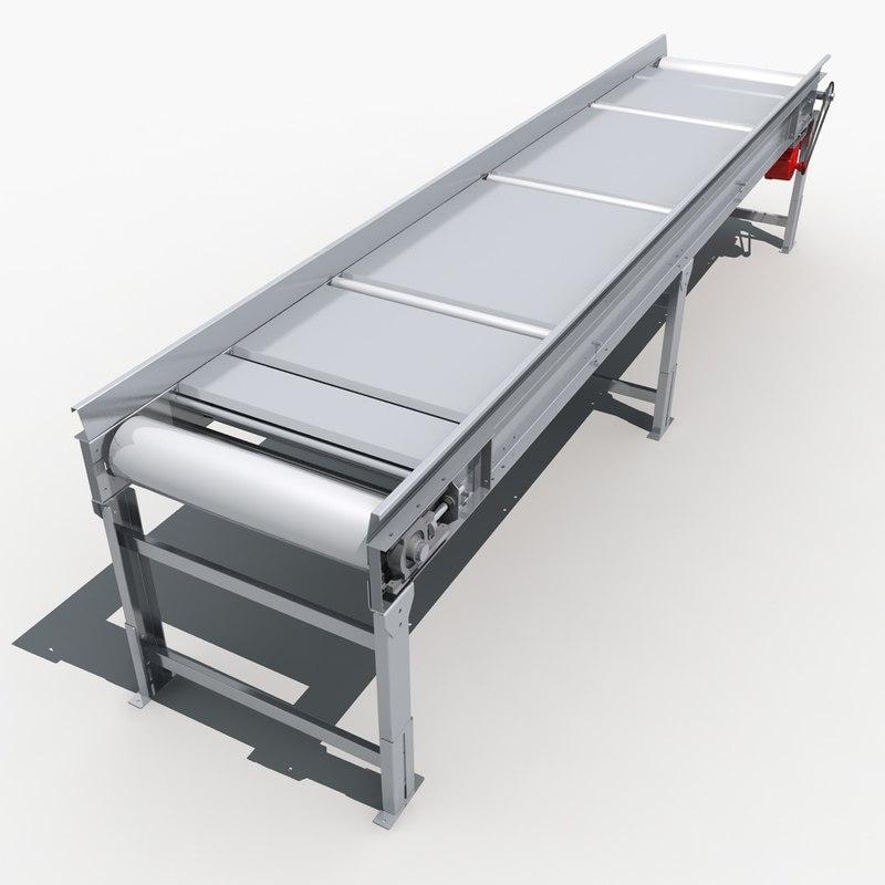 conveyor belts 02 3d model